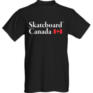 Skateboard Canada T-Shirt – Black