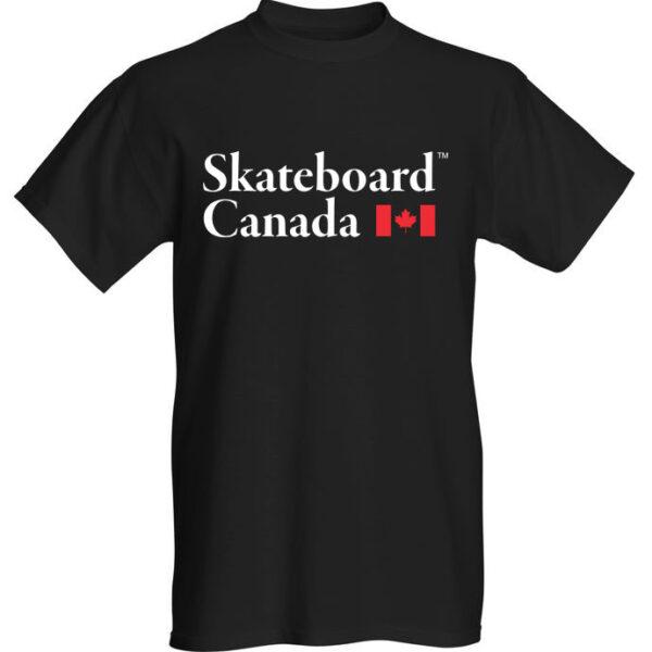 Skateboard Canada T-Shirt Black