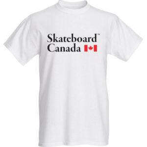 Skateboard Canada T-Shirt – White