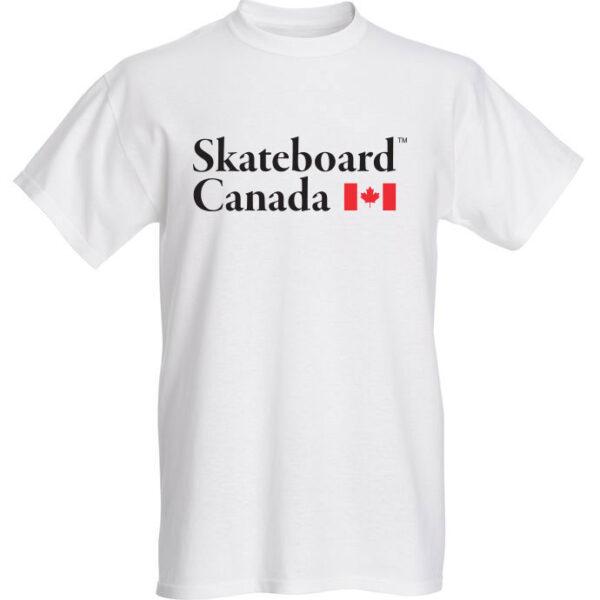 Skateboard Canada T-Shirt White