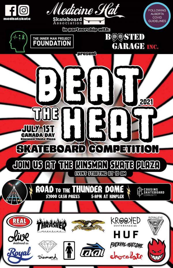 Beat the Heat Skateboard Competition